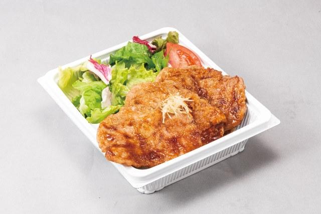 四元豚ロース生姜焼き(ライス付)