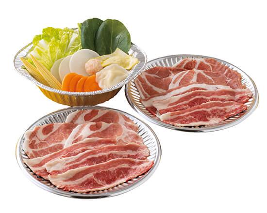 鍋セット(チゲ)お肉2倍