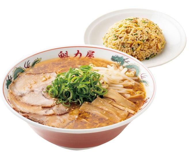 みそラーメン(レンチンタイプ)(並)+焼きめし(小)セット