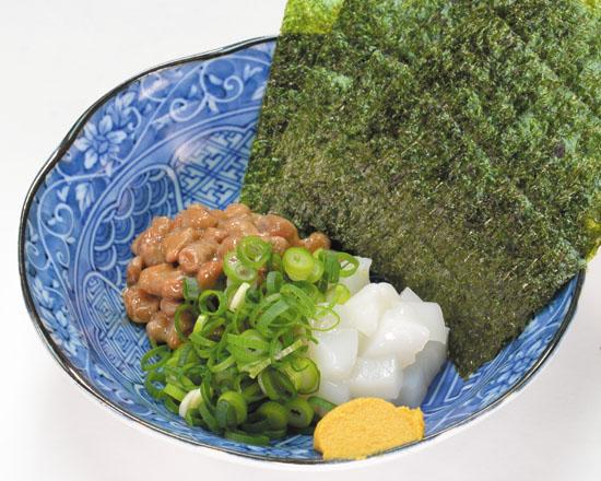 高丸食品のイカ納豆