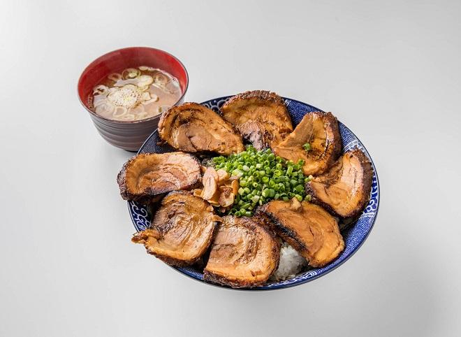 幸丼バラ メガ盛(味噌汁付き)