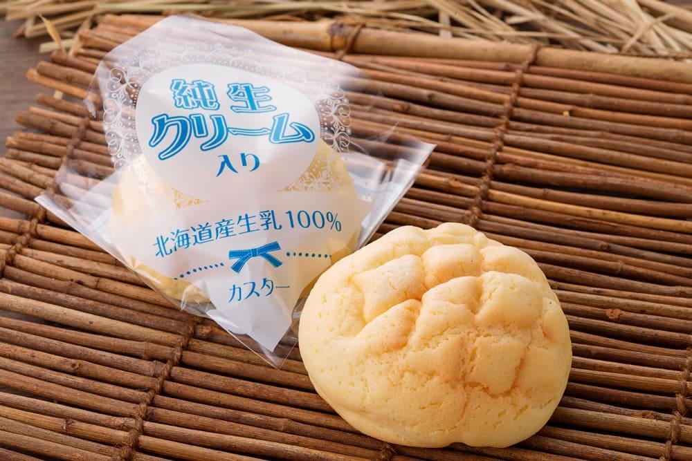 純生クリームメロンパン