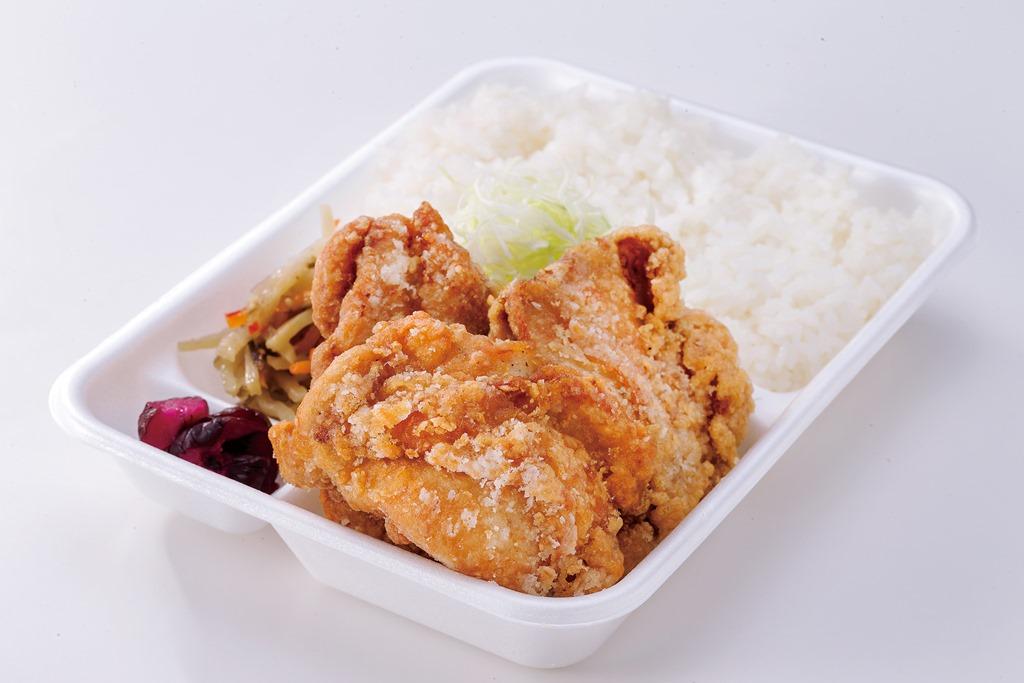 爆弾鶏から弁当(爆弾鶏から4個)