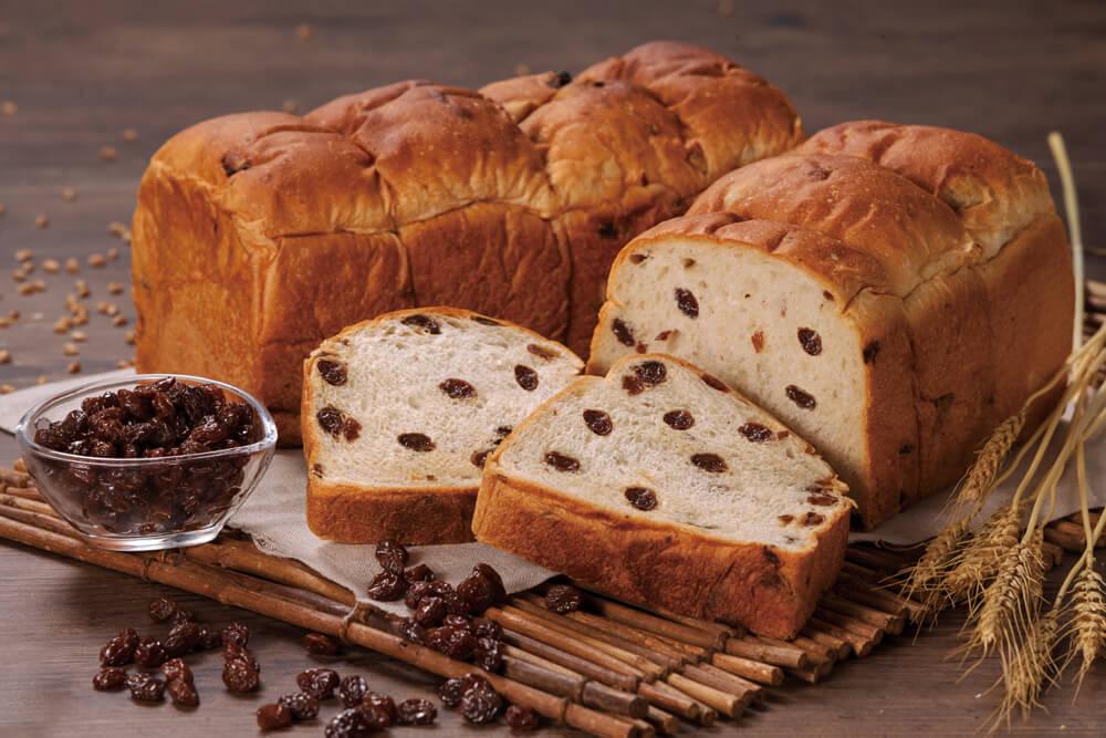 ー究極のー ぶどうパン 2斤