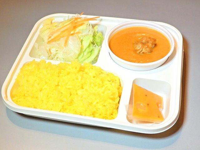 カレー1種類+ライス+サラダ(1Curry+Rice+Salad)