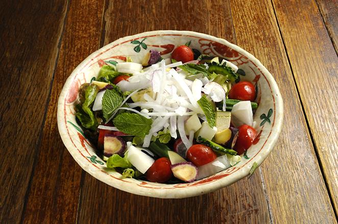 ごろごろ野菜どっさりサラダ