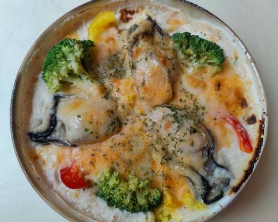 牡蠣のドリア