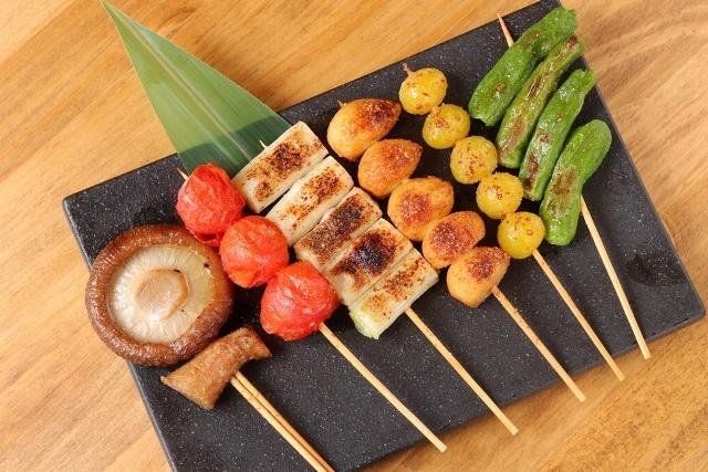 焼き野菜盛り合わせ6本