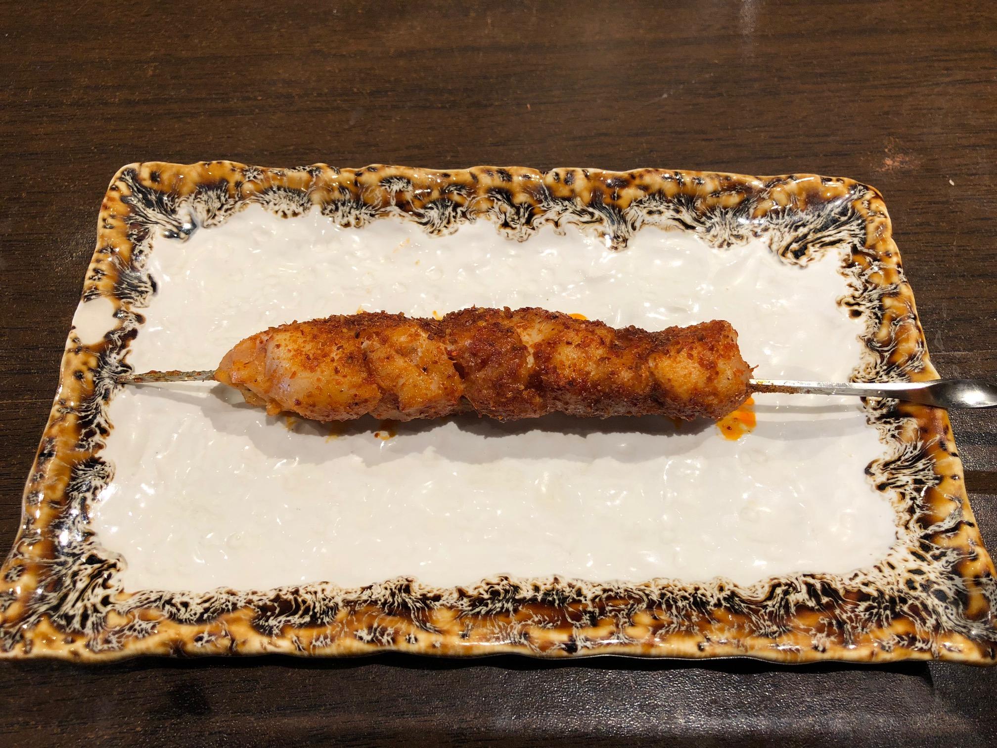 モンゴル風串焼き(鶏もも)