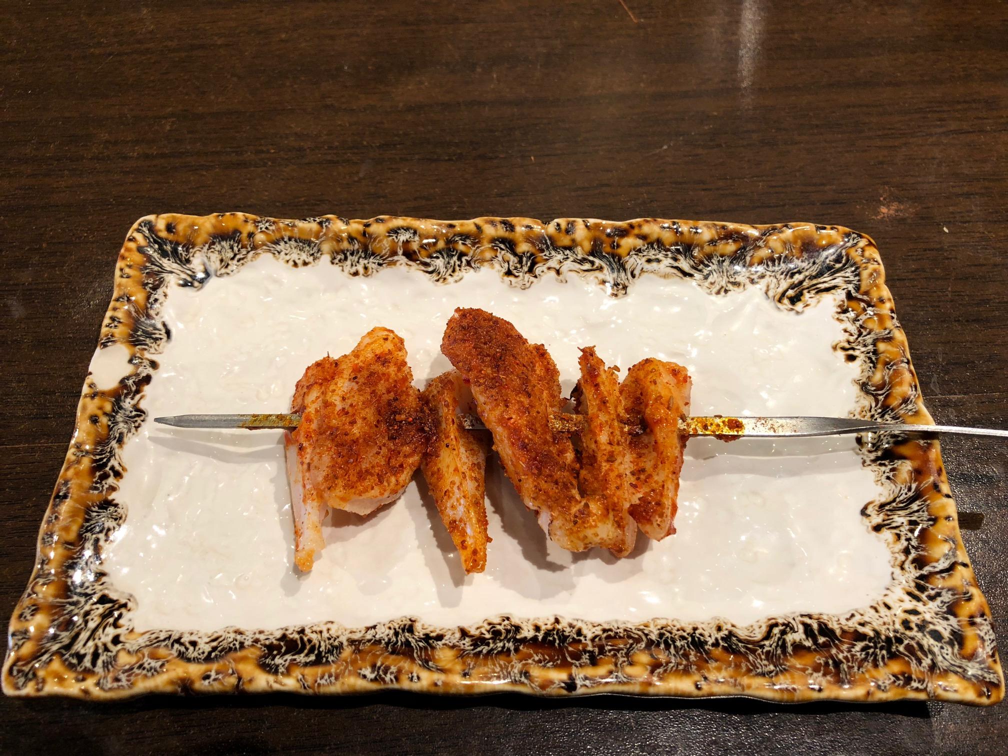 モンゴル風串焼き(鶏軟骨)