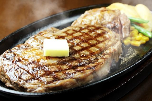 ステーキの王道リブアイステーキ弁当