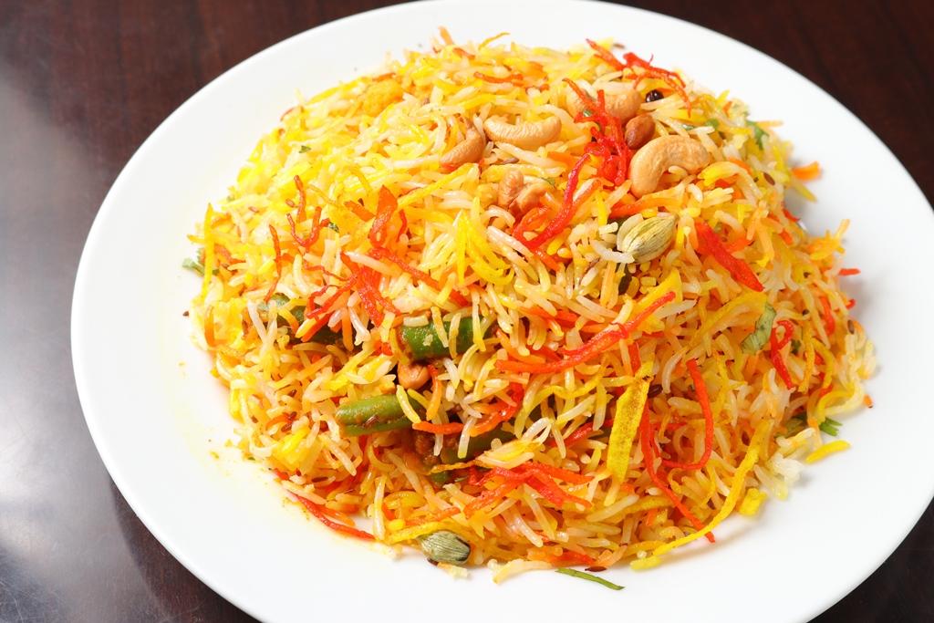 野菜ビリヤニ Vegetable Biryani