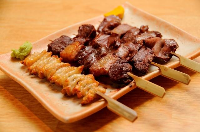 大将のおまかせ串焼き4本セット(塩)