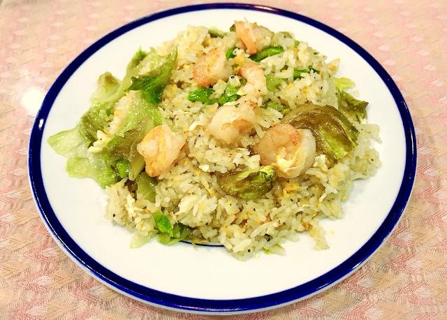 海老レタス炒飯(Ebi Lettuce Chahan)
