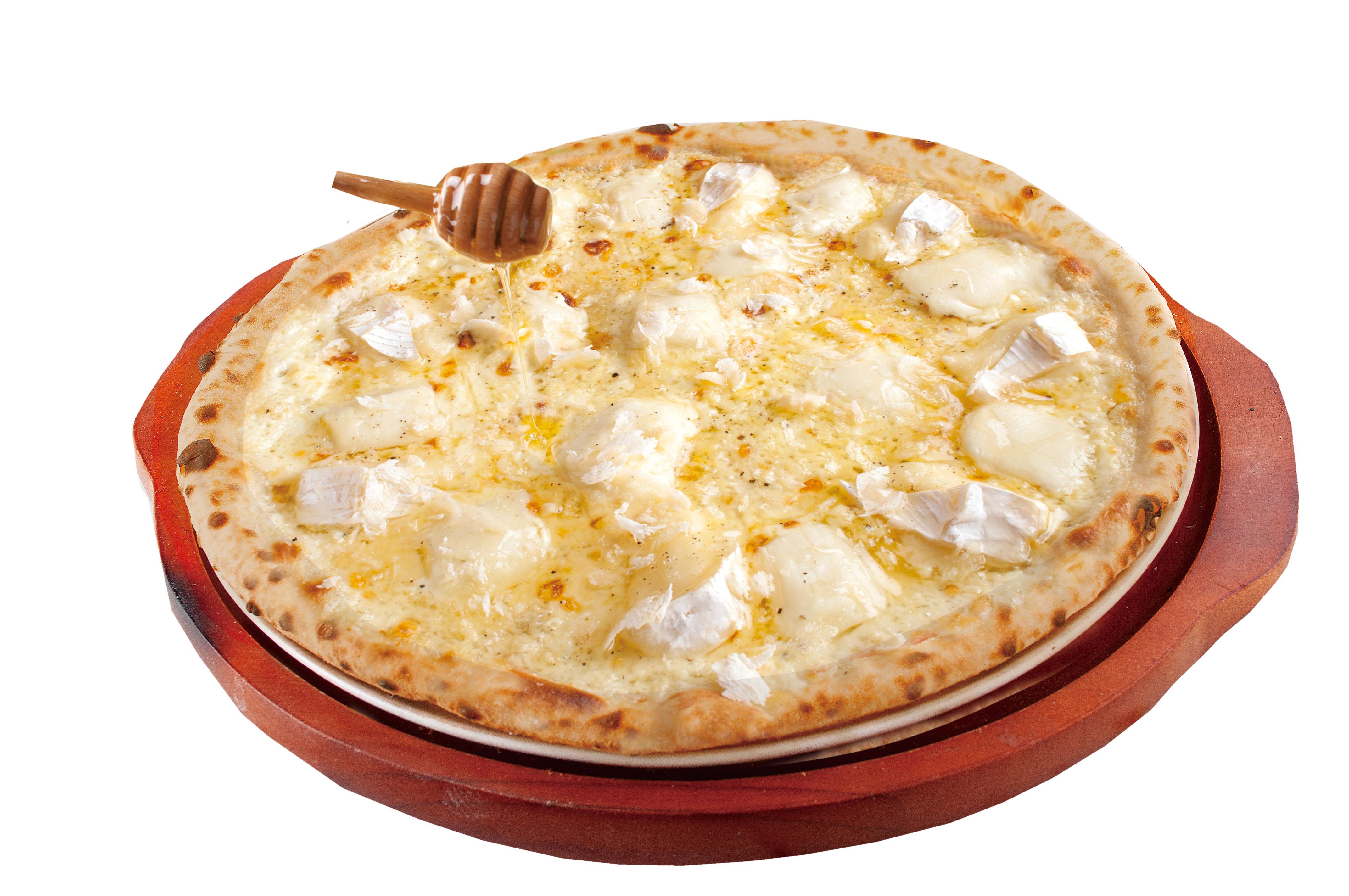 絶品5種チーズの白雪はちみつかけ