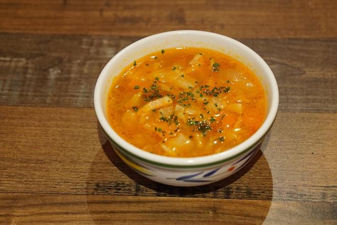 野菜たっぷり田舎風スープ(2杯分)