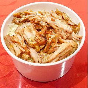鶏肉のドネルケバブ丼