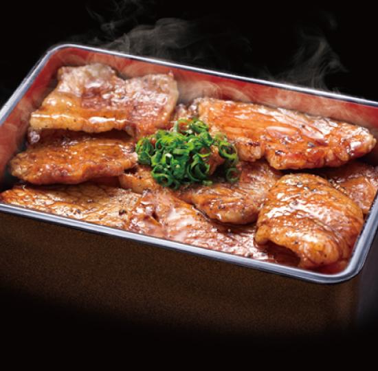 名物  贅沢豚丼