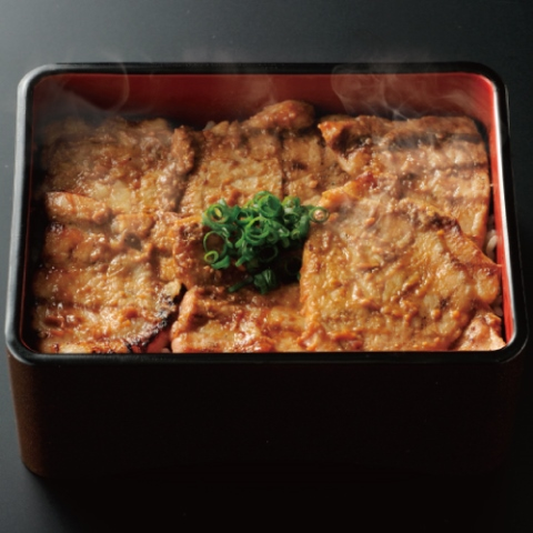 秘伝の味噌ダレ漬け豚丼