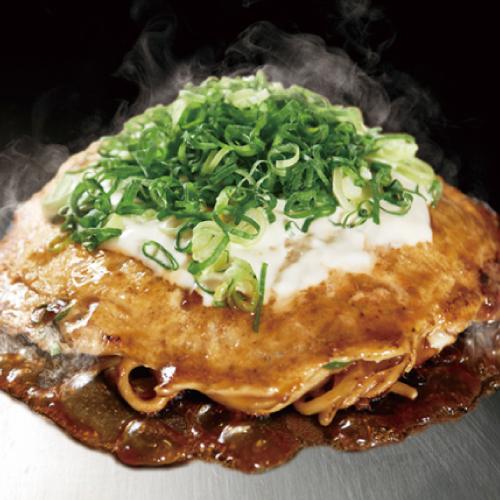 ねぎ焼モダン  (豚肉 / 旨味醤油ダレ)