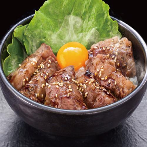 牛カルビ焼肉丼