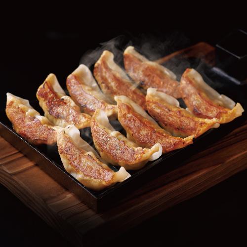 【お買い得】肉汁 鉄板餃子 10ヶ (5ヶのお値段で)