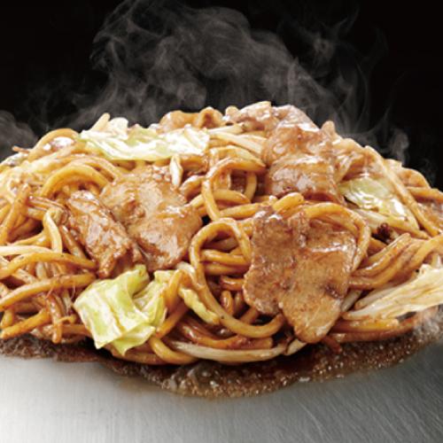 豚入り焼そば (ポーク /  秘伝 特製ソース)