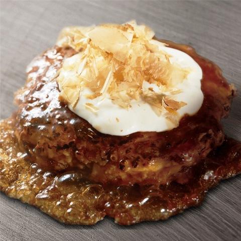 もちチーズin とん玉(旨味醤油タレ / 豚カルビ・もち・チーズ・大葉)